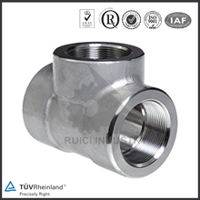 stainless steel flange SS304 tees pipe fitting