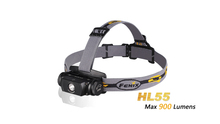 Hot selling original fenix headlamp HL55 flashlight Digitally regulated output with long life span