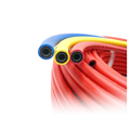 YUTE sae j639 flexible 3 colors refrigeration charging hose