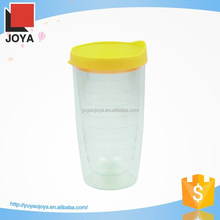 beautiful double wall plastic insulated thermal travel coffee cups