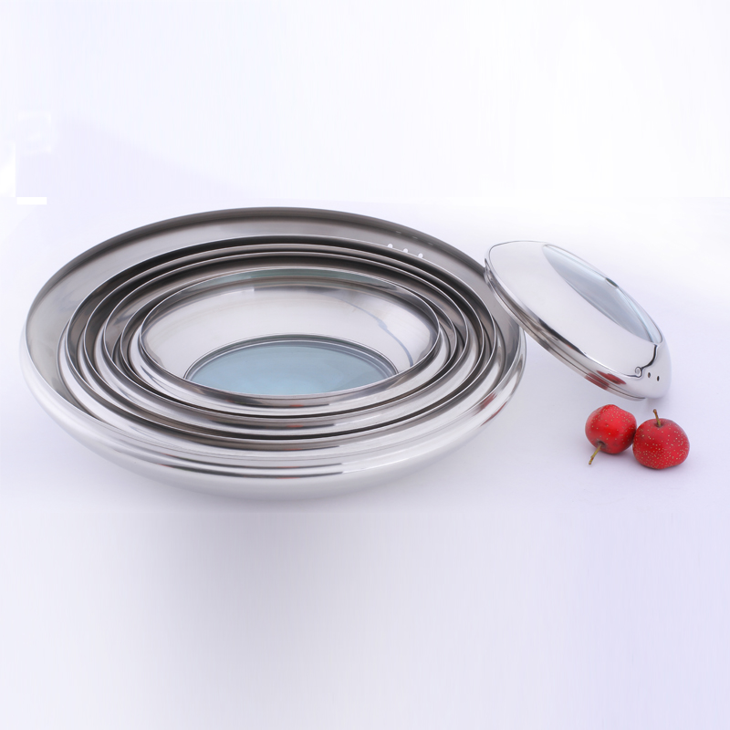 2017 New design non-stick square fry pan lid