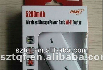 Hame A100 5200mAh Power Bank Router