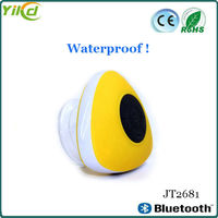 Silicone suction cup waterproof shower bluetooth speaker