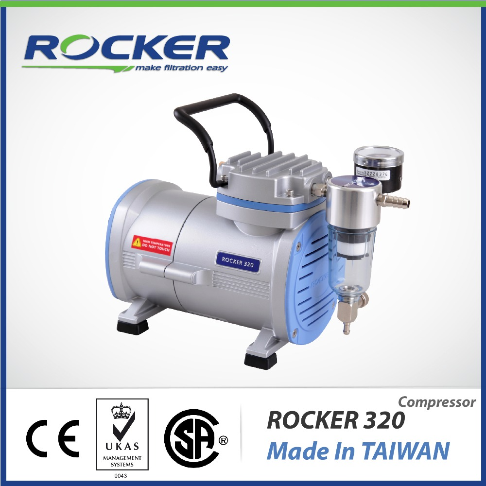 Rocker Scientific Rocker 320 Oil Free Piston Air Compressor