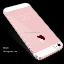 DFIFAN Cell phone case wholesale for iphone 5s ultra thin slim clear tpu mobile case cover for iphone 5