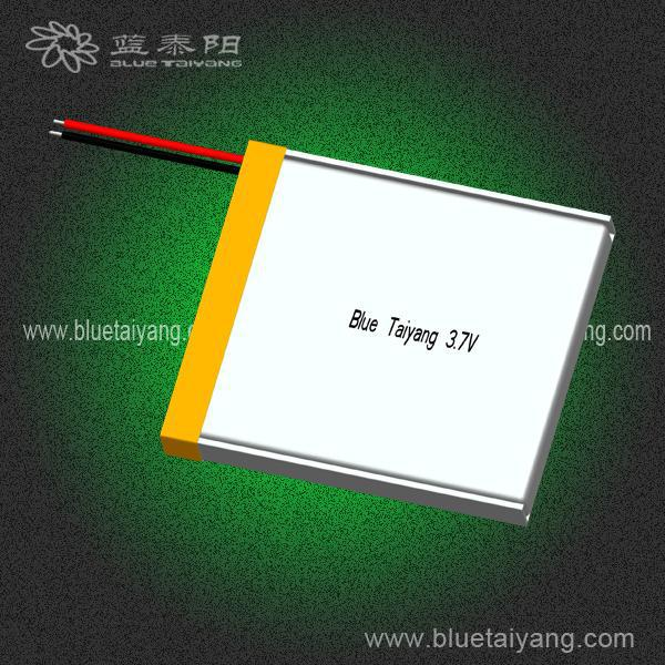 354045 600mAh rechargerable lithium polymer batteries