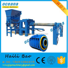 steel reinforced concrete pipe making machine for large diameter concrete pipe