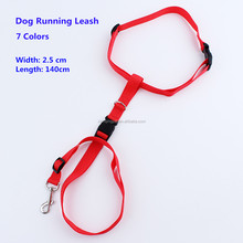 wholesale nylon running hands free dog leash/ leads