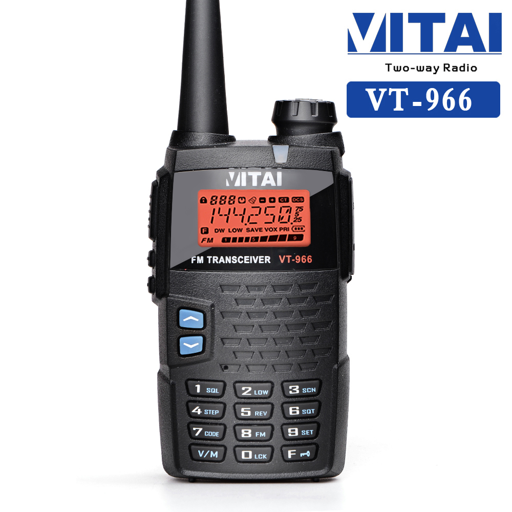 VITAI VT-966 VHF/UHF 128 Channels Ham Two Way Radio Transceiver