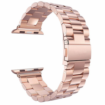 Amazon Hot Sale Stainless Steel Men Watch Band for iWatch All Series ,for apple watch band