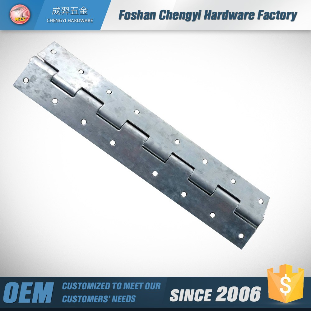 mild steel plated zinc piano hinge for roof window