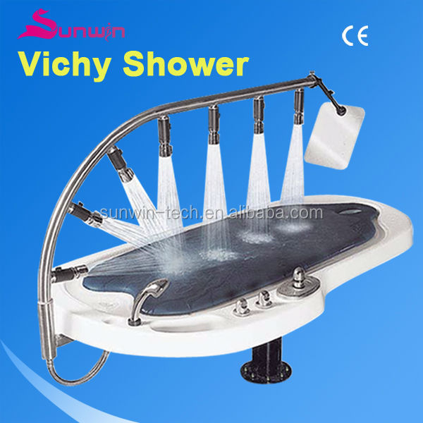 SW-707S Newest Computerized Vichy Showers CE approved/vichy shower table