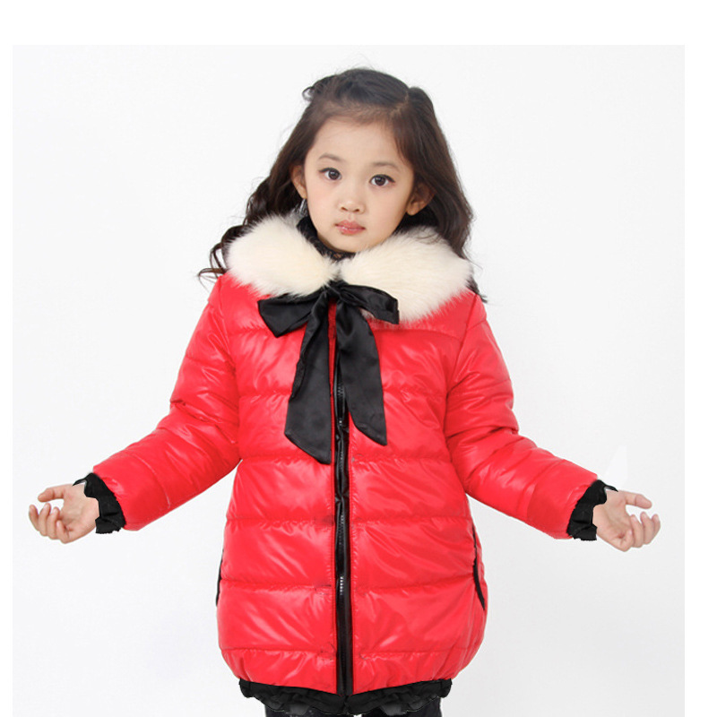 Free shipping The new winter cotton-padded clothes collars cotton-padded clothes with thick cotton-padded clothes of the girls