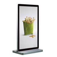 55 Inch Touch Android Standing Lcd Screen