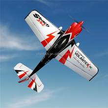 2.4Ghz 6-Channels Sbach 342 Thunderbolt 1.1m wingspan 3D Aerobatic Airplane V756-1 RC Glider plane