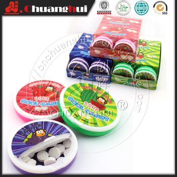 20g Sour Cool Candy Fruity Sour Sobitol Acid Candy
