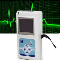 2015 popular Free software 12 channel ECG holter system recorder analyzer Cardioscape EKG Holter Monitor