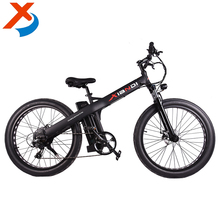 26'' 36v 350w lithium battery pedal assisted adult fat tire beach cruiser electric snow bicycle electric bike e-bike for travel