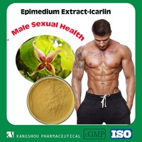 Natural Male Sexual health Epimedium extrac ,horny goat weed extract Icariin&Icariins