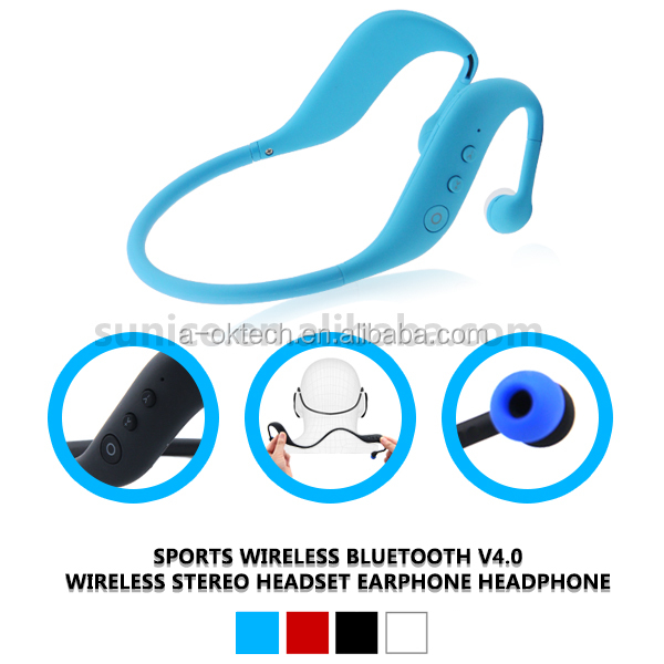 wireless sport bluetooth headset 3 in 1 Bluetoot sport headset with bluetooth, TF card and FM radio