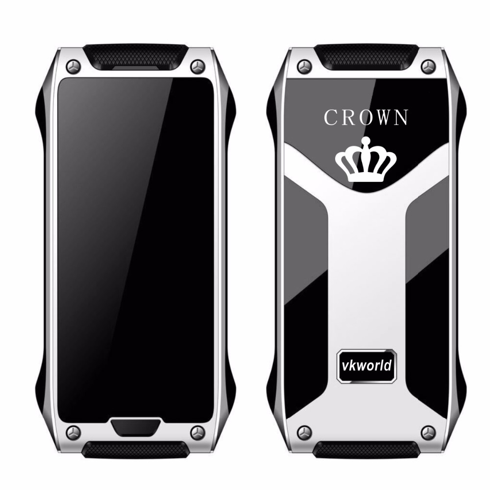 vkworld Crown V8 - Fashionable Original Brand Luxury Small Mini Card Size 1.63inch Supper Slim 4.9mm Mobile Phone