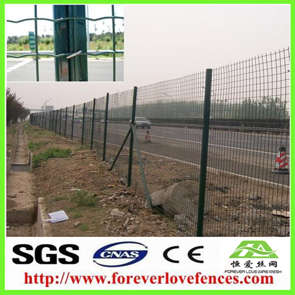 Factory directly provide PVC coated euro holland welded wire mesh panels