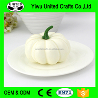 Halloween Decorative Artificial White Pumpkins Wholesale