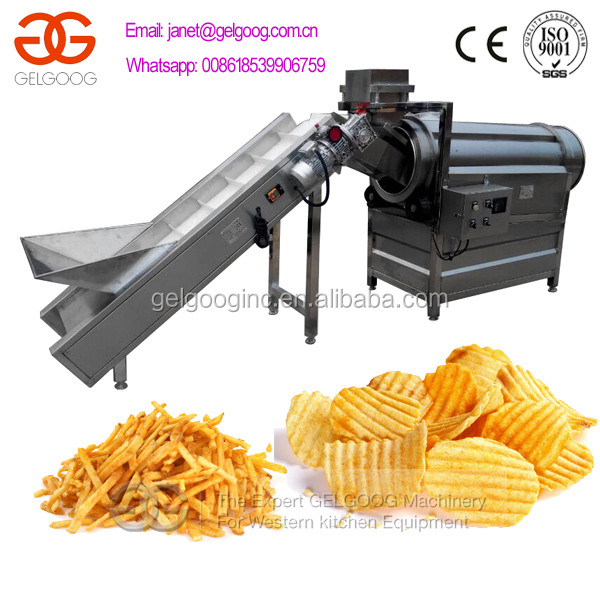GELGOOG Crispy Chips Flavoring Machine 008618539906759