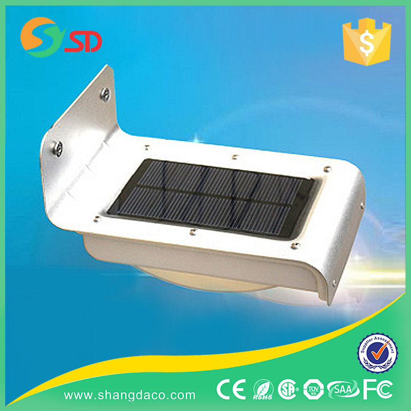 Hot Sales Outdoor Integrated Led Garden Solar Wall Light