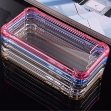 Factory Price TPU Back Phone cover Case for iPhone 7 plus Case Transparent 0.9mm
