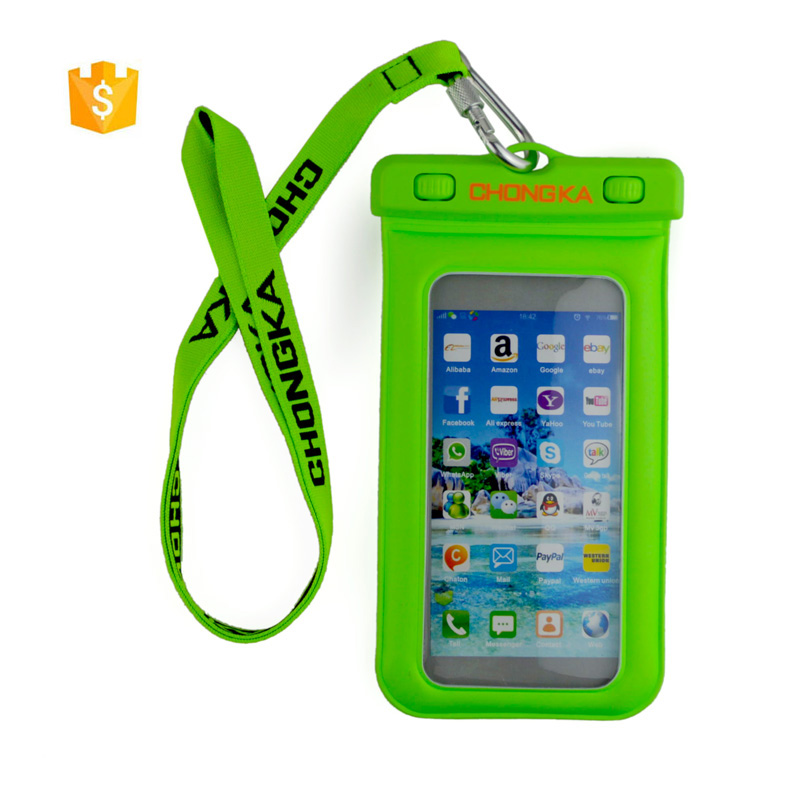 Touch-screen universal cell phone waterproof bag all mobile compatible brand Waterproof pouch underwater camera drifting