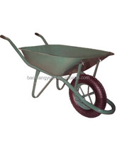 WB6400 Qingdao Manufacturer French Commercial Wheelbarrow Large Capacity Concrete Wheelbarrow