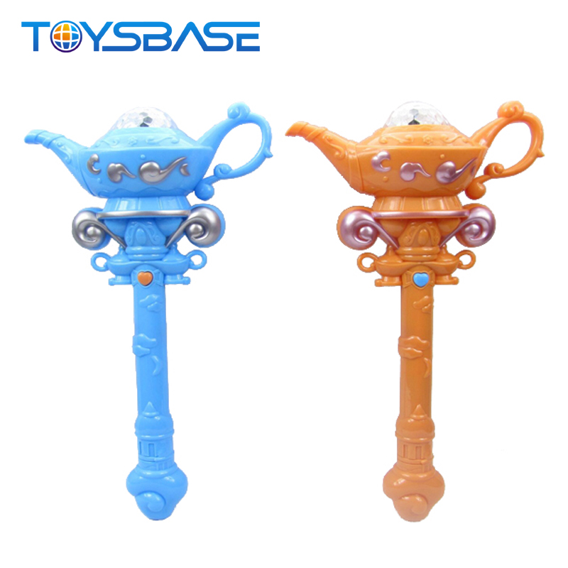 2018 New Products Baby Toy Lovely Cartoon Shape Light Stick Toy