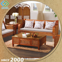 Customised Cane Luxury Sofa Furniture Price In Punjab
