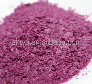 Purple sweet potato cereal flake