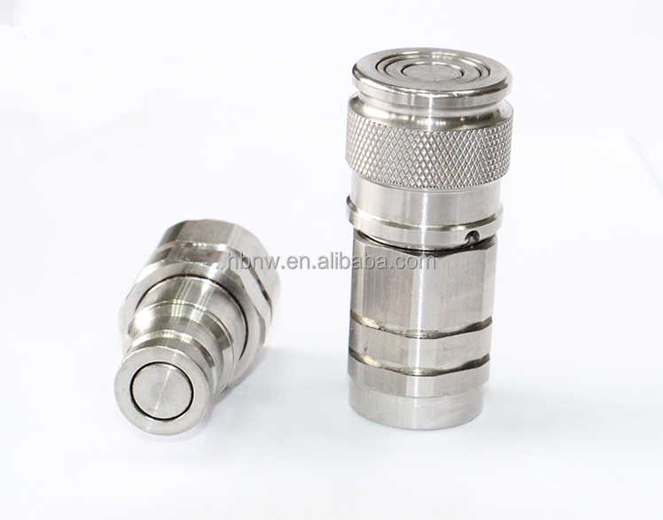 ISO16028 rabbit water nipples quick coupling swivel hose connector