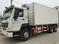 Sinotruk Howo 6x4 371hp Refrigerated/freezer Truck