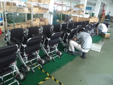 General Assembling for E-mobility Scooter