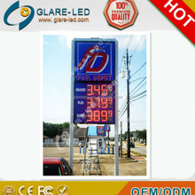 12inch Outdoor LED Fuel /Regular Price Signs gas station led price sign
