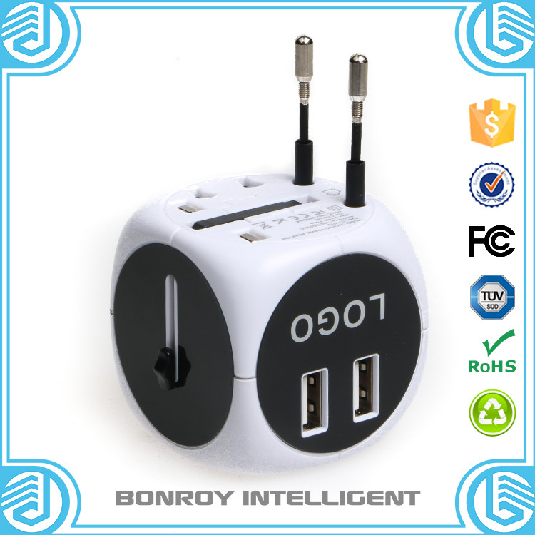 cube mini travel China manufacturer multiple wholesale universal to uk plug travel adapter on Alibaba adapter charger with usb