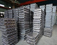 factory high quality and pure 99.995 zinc ingot in China