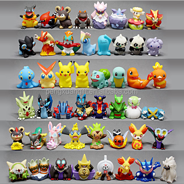 2016 Wholesale Hot Selling 144 Series Of Mini Pokemon Toys Pokemon Figure Toys Pokemon For Kids