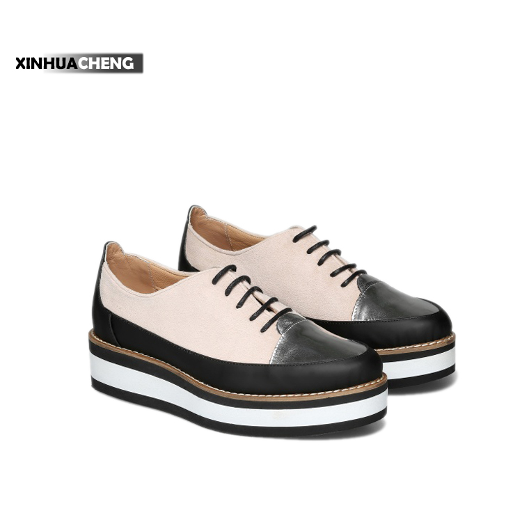 2017 new model Chinese supplie rmulticolor flat casual shoes