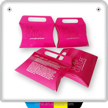 Guangzhou custom hair extension packaging box with logo