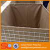 Military supplies Mil 3 sand wall hesco barriers price, flood barrier, welded gabion boxes