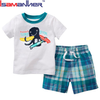 Baby clothes set boy summer imported from china