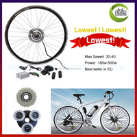 Best seller in Europe! brushless geared hub motor 36v 350w / diy electric bike kit