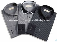Highly fashion designs dress shirts for hansome men