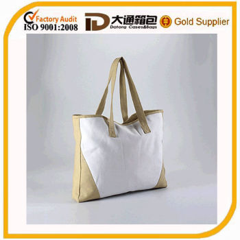 high quality standard size cotton tote bag