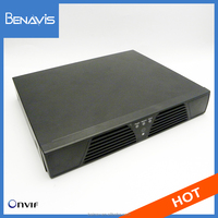 High quality cost effective CCTV camera system 4ch nvr security system supports 1 sata HDD